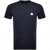 Product Image for Les Deux Crew Neck Piece T Shirt Navy