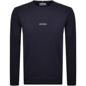 Product Image for Les Deux Lens Crew Neck Sweatshirt Navy