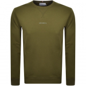 Product Image for Les Deux Lens Crew Neck Sweatshirt Green