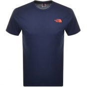 The North Face Simple Dome T Shirt Navy