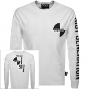 Product Image for Versace Jeans Couture Long Sleeved T Shirt White