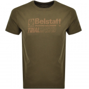 Product Image for Belstaff Trialmaster Logo T Shirt Green