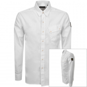 Product Image for Belstaff Long Sleeved Pitch Shirt White