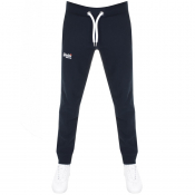 Superdry Orange Label Slim Jogging Bottoms Navy