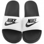 Nike Benassi JDI Sliders White