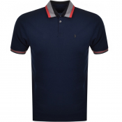 Luke 1977 Pewterville Polo T Shirt Navy