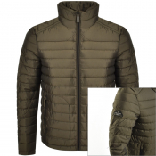 Product Image for Superdry Padded Double Zip Fuji Jacket Green