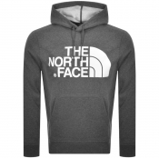 The North Face Standard Logo Hoodie Grey
