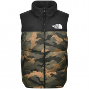 The North Face Nuptse Down Gilet Khaki