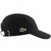 Lacoste Side Croc Logo Cap Black
