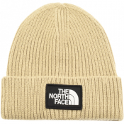 The North Face Logo Beanie Hat Beige