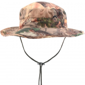 Billionaire Boys Club Tree Camo Boonie Hat Beige