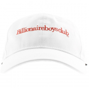 Billionaire Boys Club Logo Cap White