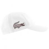 Product Image for Lacoste Sport Crocodile Baseball Cap White