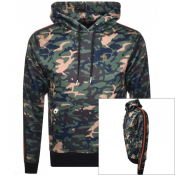 Product Image for Luke 1977 Kick Camouflage Pullover Hoodie Green