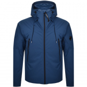 CP Company Padded Soft Shell Jacket Blue