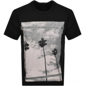 True Religion Palm Tree T Shirt Black