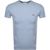 Product Image for Lacoste Crew Neck T Shirt Blue
