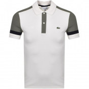 Product Image for Lacoste Short Sleeved Polo T Shirt White