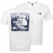 The North Face Red Box T Shirt White