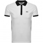 Diesel T Skatt Polo T Shirt White