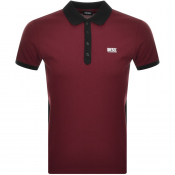 Product Image for Diesel T Skatt Polo T Shirt Burgundy