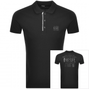 Product Image for Diesel T Skatt Short Sleeved Polo T Shirt Black