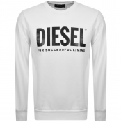 Product Image for Diesel Division Sweatshirt White