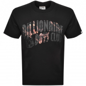 Billionaire Boys Club Camo Logo T Shirt Black