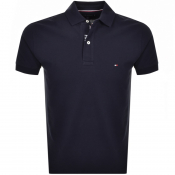 Tommy Hilfiger Regular Polo T Shirt Navy