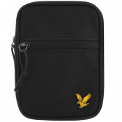Product Image for Lyle And Scott Mini Messenger Bag Black