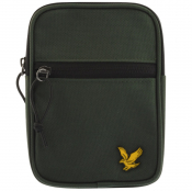 Product Image for Lyle And Scott Mini Messenger Bag Green