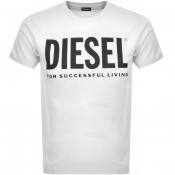 Diesel T Diego Short Sleeved T Shirt White