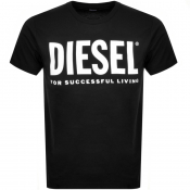 Product Image for Diesel T Diego Short Sleeved T Shirt Black