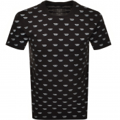 Diesel Jake Short Sleeved T Shirt Black