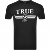 True Religion Basic Trucci Logo T Shirt Black