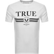 True Religion Basic Trucci Logo T Shirt White