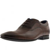 Ted Baker Inesce Leather Shoes Brown