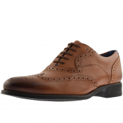 Ted Baker Mitack Leather Brogues Brown