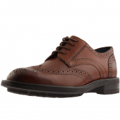 Ted Baker The Ruu Leather Brogues Brown