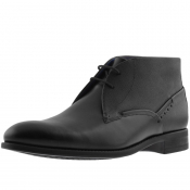 Ted Baker Chemna Leather Boots Black