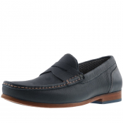 Ted Baker Xaponl Leather Shoes Navy