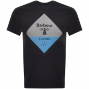 Barbour Beacon Diamond T Shirt Black