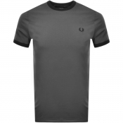 Product Image for Fred Perry Ringer T Shirt Grey