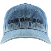 Product Image for Calvin Klein Jeans Denim Logo Cap Blue