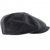 Barbour Thorne Bakerboy Hat Navy