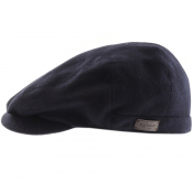 Barbour Redshore Flat Cap Navy