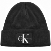 Product Image for Calvin Klein Jeans Knit Logo Beanie Hat Black