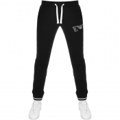 Emporio Armani Logo Jogging Bottoms Black