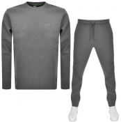 BOSS Athleisure Crew Neck Tracksuit Grey